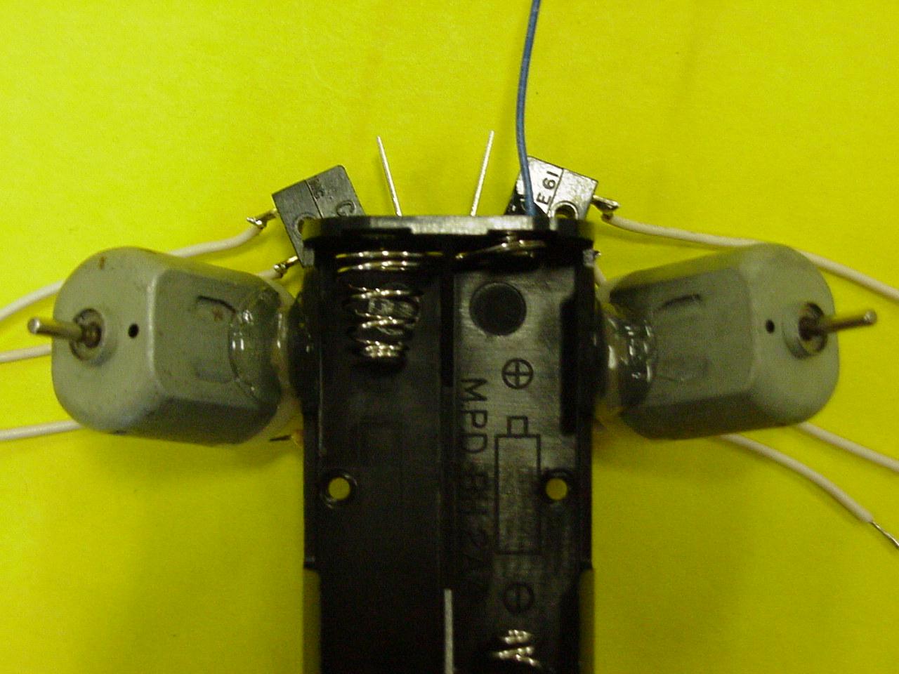 Робот из мышки своими руками